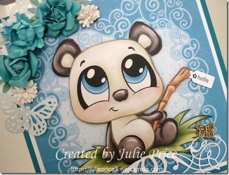panda angle view