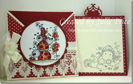stamptacular mulity fold card inside showing