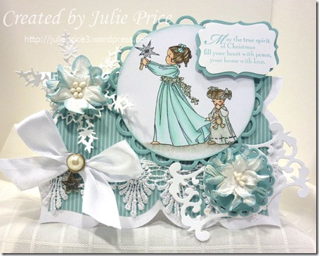 belles and whistles christmas card