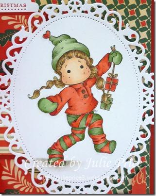 Christmas Tilda closeup