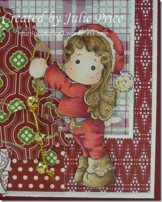 Jingle Jangle Tildda bells closeup