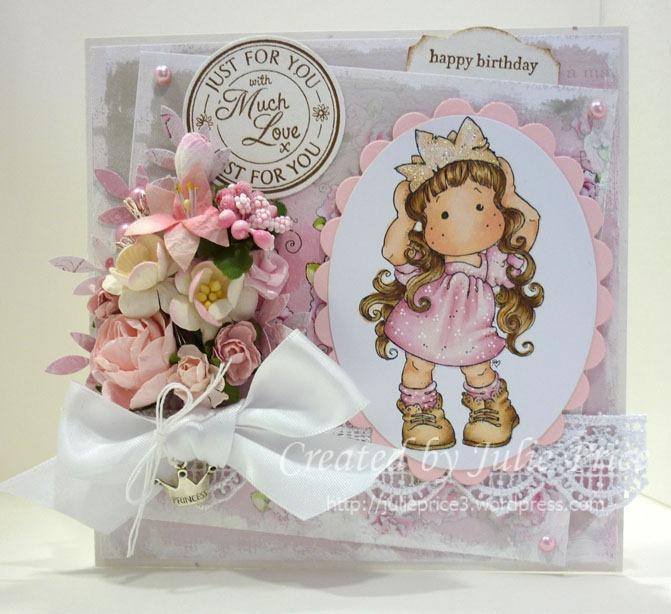 Happy Birthday Princess Stamps Paper Ribbons n Things Stamps – Happy Birthday Princess Card