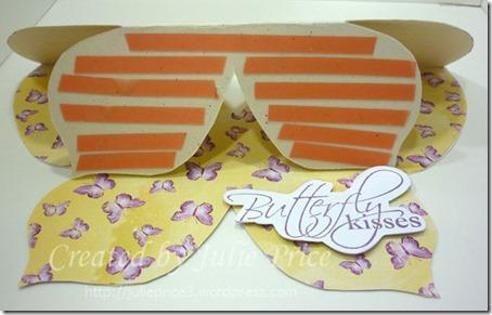 Butterfly easel base