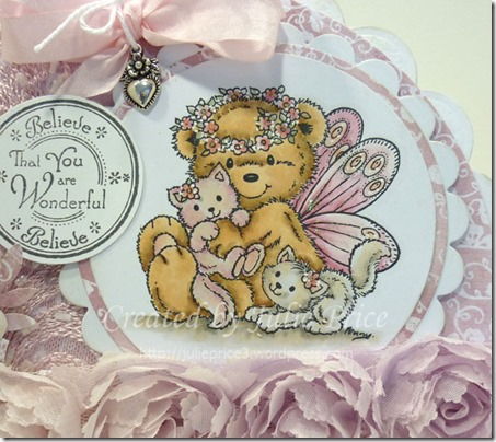 fairy bear closeup