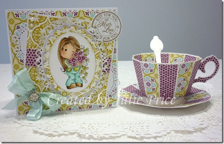tea cup and card