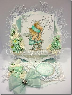 fairy easel card