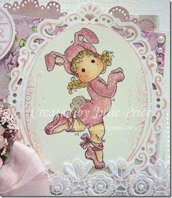 bunny card closeup
