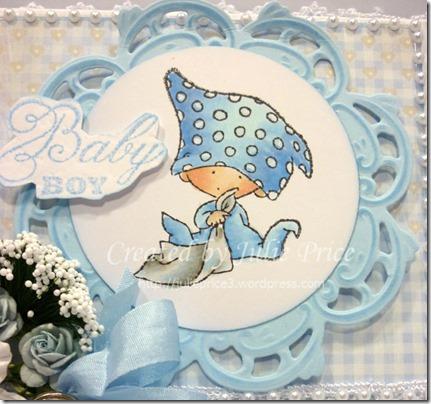 Marianne Designs Baby box lid closeup