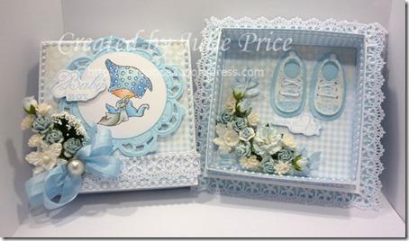 Marianne Designs Baby box open