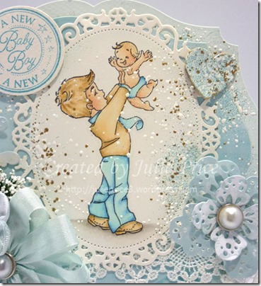 its a boy closeup