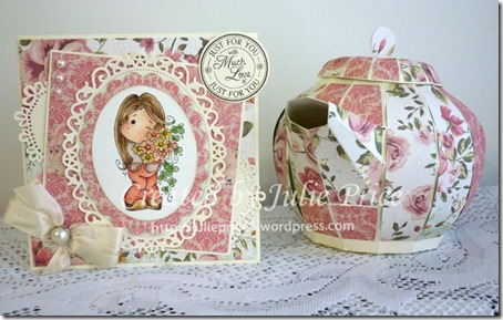 card and tea pot