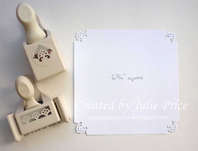 Martha Stewart Border Punches How To Stamps Paper Ribbons N