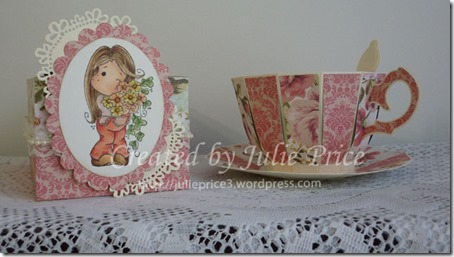 tea caddy and cup