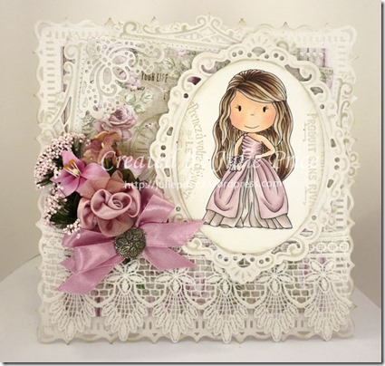 paper nest dolls card front