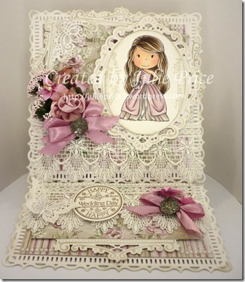 paper nest dolls easel card
