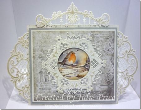 card pre embellishment