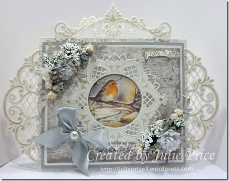 Snowy Robin card