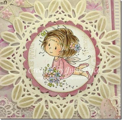 flower fairy closeup