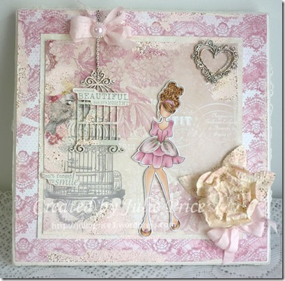 Julie Nutting Doll Canvas