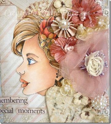 bloom girl journal closeup