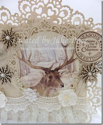deer card closeup