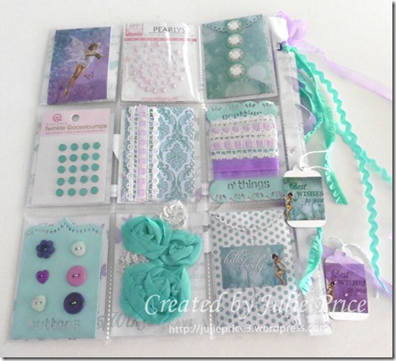 fairy pocket letter goodies