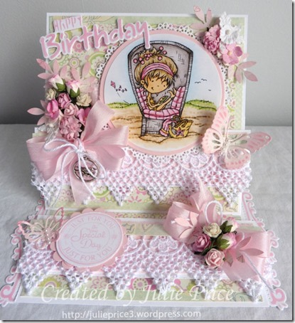 don and daisy easel card