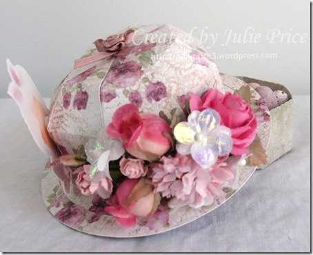 tilda easter bonnet back