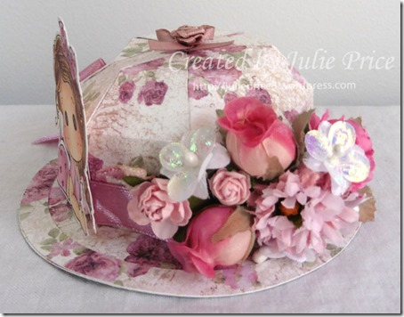 tilda easter bonnet flowers