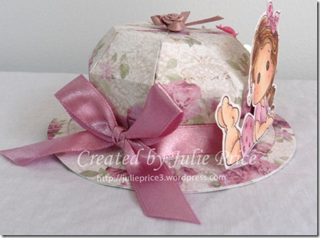 tilda easter bonnet side