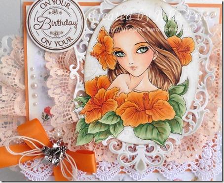 Hibiscus Spirit closeup2