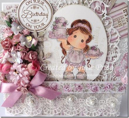 rose cake closeup2