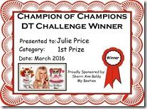 Julie 2016 March