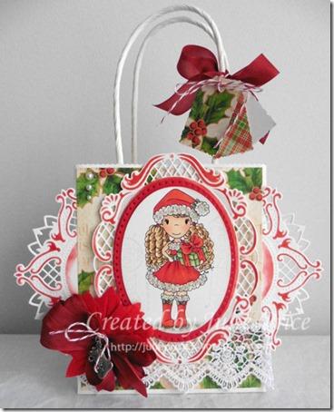 paper nest dolls gift bag