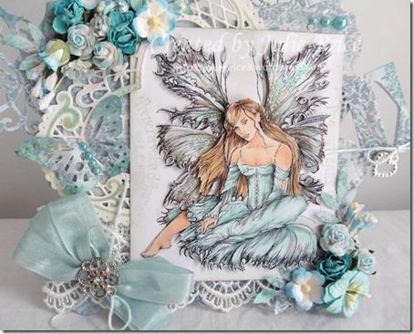 aqua fairy closeup