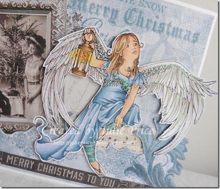 christmas angel angle