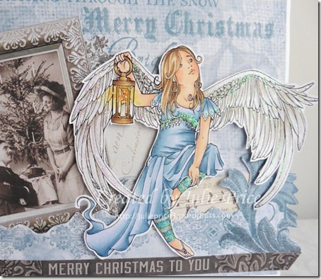 christmas angel closeup 2