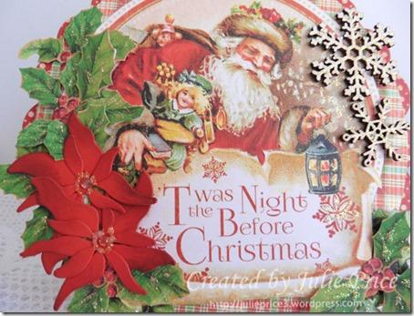 ornament cards closeup