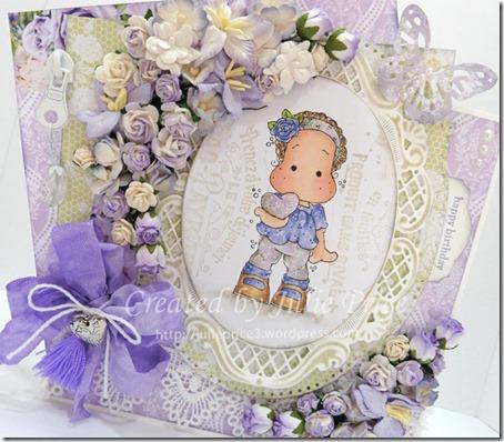purple angle