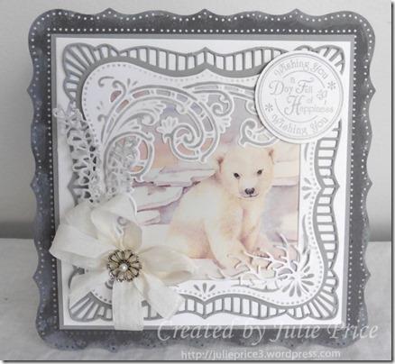 polar bear card 1