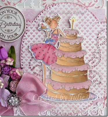 stampin bella closeup